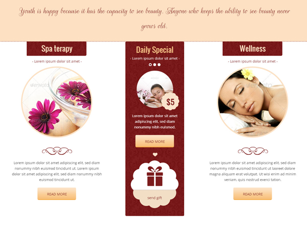 Website Spa - Beauty